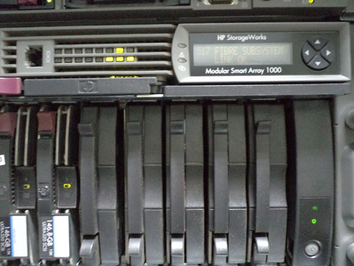 HP Storage Work Modular Smart Array 1000.